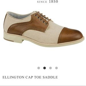 Johnston & Murphy Ellington Cap Toe Oxford